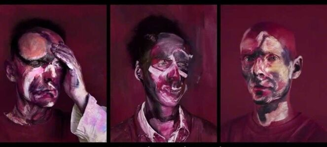 "Michel Platnic, 'After ""Three studies for Portrait of Lucian Freud""', 2013"