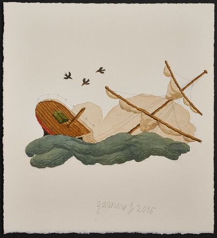 Ramiro Fernandez Saus, 'Shipwreck', 2015