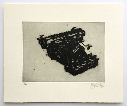 William Kentridge, 'Typewriter VII', 2003