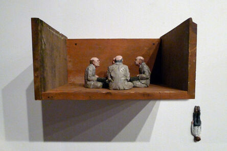 Isaac Cordal, 'Education Is Not Industrial', 2013