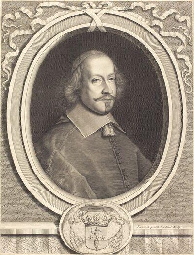 Robert Nanteuil after Pieter van Mol, 'Cardinal Jules Mazarin', 1657