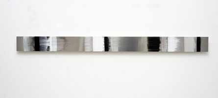 Claudia Desgranges, 'zeitstreifen boneblack', 2018