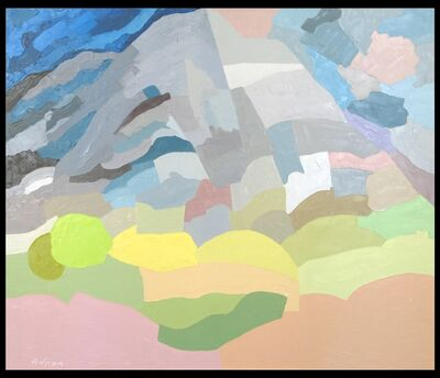 Etel Adnan, 'Mount Tamalpais', 1985