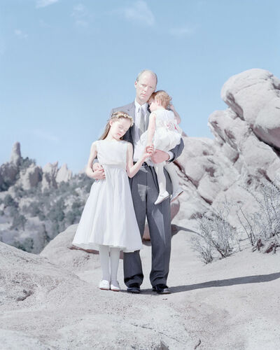 David Magnusson, 'Laurel Kruse, 10 years, Gary Kruse & Naomi Kruse, 2 years. Black Forest, Colorado.'