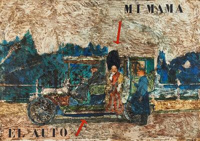 Antonio Seguí, 'Mi Mama, El Auto', 1963