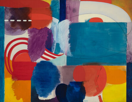 Fred Mitchell (1923-2013), 'Battery Park Hallucination', 1965-1967