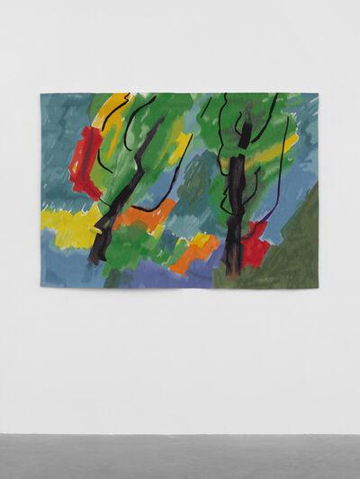 Etel Adnan, 'Blue Path ', 2018