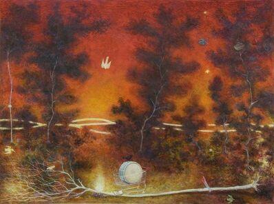 Alasdair Wallace, 'Campfire', 2010