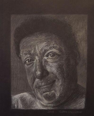 Glenn Goldstein, 'Portrait in White Pastel', 2016