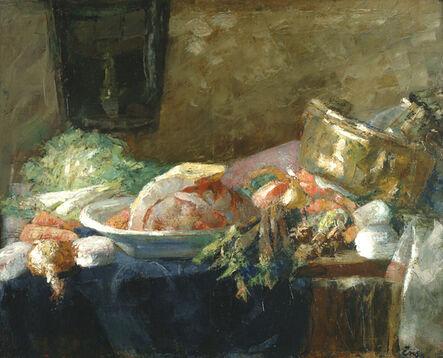 James Ensor, 'Nature morte au canard', 1880