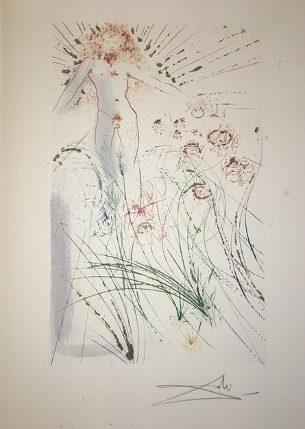Salvador Dalí, 'I Am My Beloved, My Beloved Is Mine: He Feedeth Among The Lilies', 1971