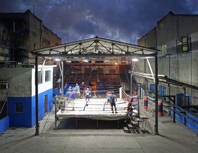 David Burdeny, 'Gimnasio de Boxeo, Havana, Cuba', 2014
