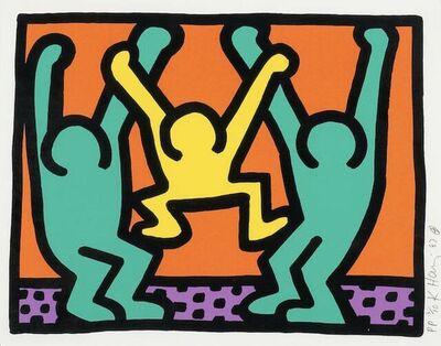 Keith Haring, 'Pop Shop I (B)', 1987