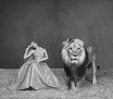 Tyler Shields, 'The Lady and The Lion', 2018
