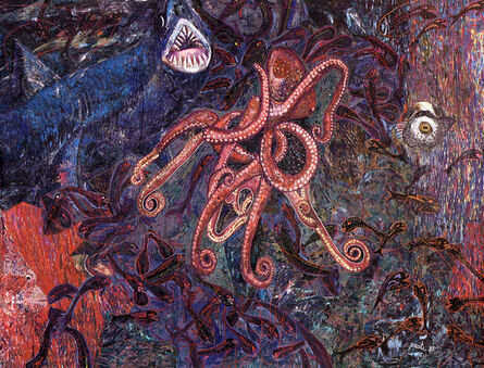 Pacita Abad, 'My fear of night diving', 1985