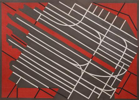 Margo Hoff, 'Near the Pier', 1965-1975