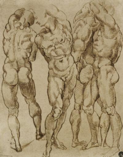 Bartolomeo Passarotti, 'Nude Studies', 1570-1580