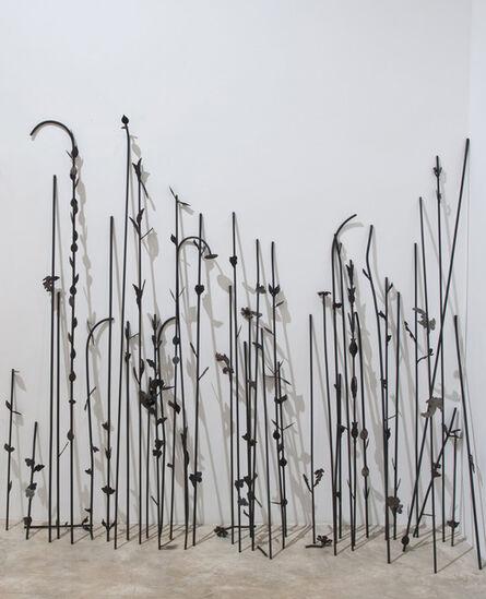 Sheela Gowda, 'Cut Flowers', 2011