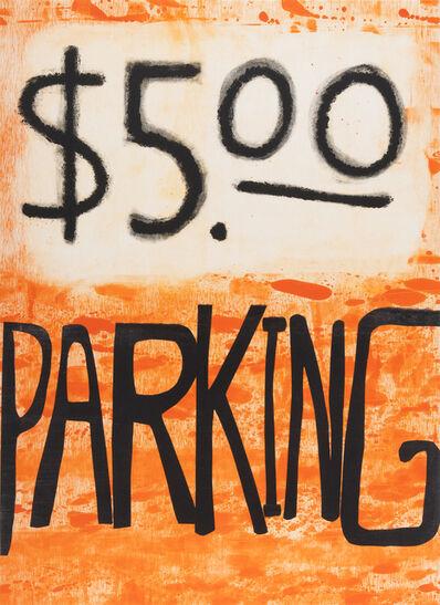 Todd Norsten, '$5.00 Parking', 2017