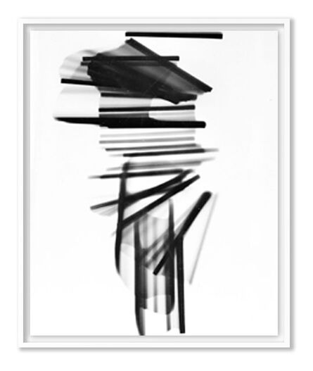 William Klein, 'Horizontal sticks, Paris', 1952