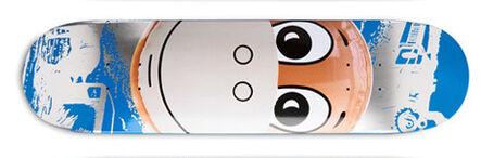 Jeff Koons, 'Skateboard Monkey Train - Blue', 2008