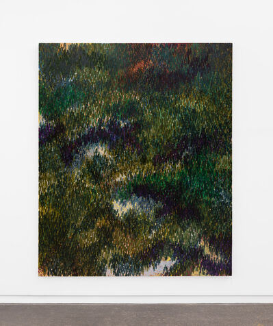 Derek Liddington, 'Their movement followed the shadows. I hid, peaking through the foliage. It was just a dream.', 2021
