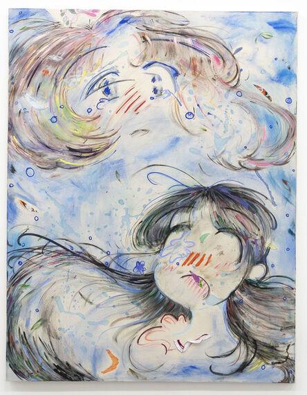 Motoko Ishibashi, 'In blue', 2016