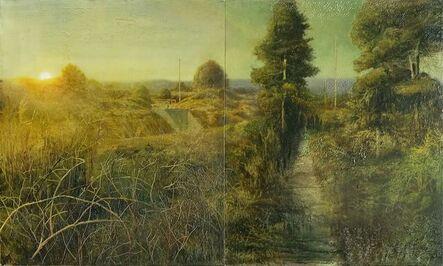 Sam Douglas, 'Gidge Beside the Parrett', 2016