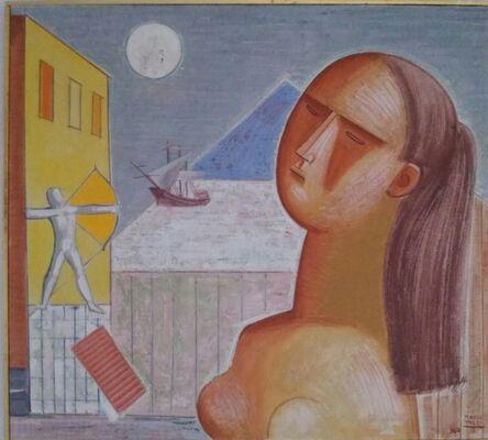 Mario Tozzi, 'L'arciere e la piramide', 1962