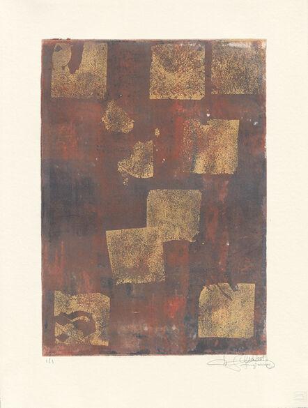 Makoto Fujimura, 'Van Nuys Monotype Series No. 11 凡奈斯絹印單刷系列', 2017