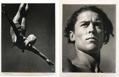 Leni Riefenstahl, 'Diptych, Die Siegerin (The Winner) and   Anatol, Silver gelatin pigment print  ', 1936