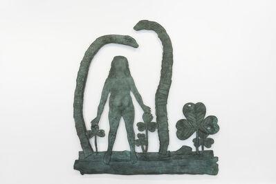 Kiki Smith, 'Teaching Snakes with Woman', 2011