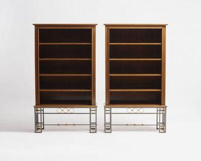 Maison Leleu, 'Pair of Bookcases', 1963