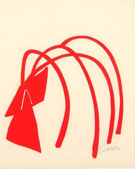 Alexander Calder, 'Four Arches Original Print Sculpture by Alexander Calder', 1974
