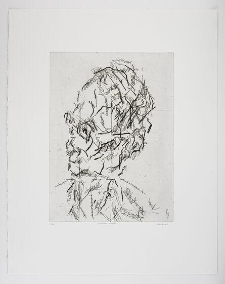Frank Auerbach, 'William Feaver', 2007