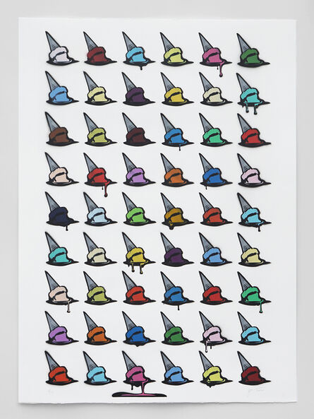 Joe Iurato, 'Drippin' Dots (4)', 2020