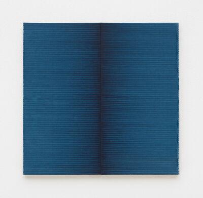 Irma Blank, 'Radical Writings, Schrift-Atem-Übung 15-4-88', 1988
