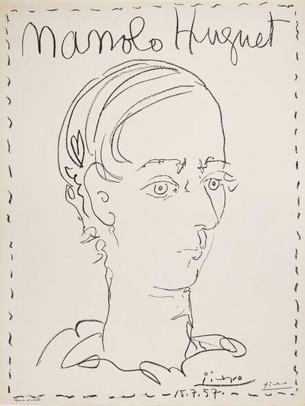 Pablo Picasso, 'Manolo Hugnet / Affiche pour le Musée de Céret', 1957