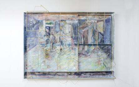 Sara Barker, 'Make Lato white and tear up your books', 2018