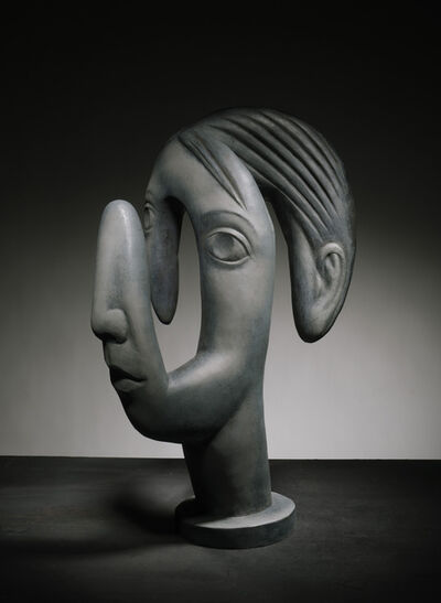 Terry Stringer, 'Linear Head of a Boy', 2018