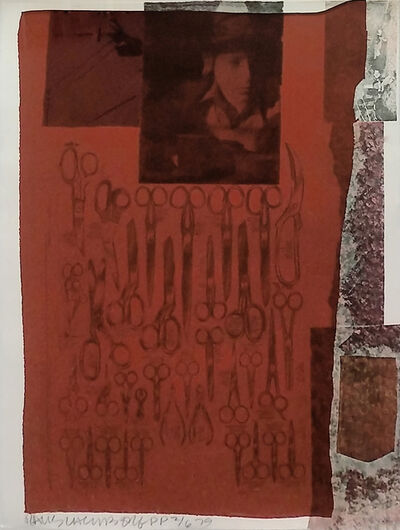 Robert Rauschenberg, 'MOST DISTANT VISIBLE PART OF THE SEA', 1979