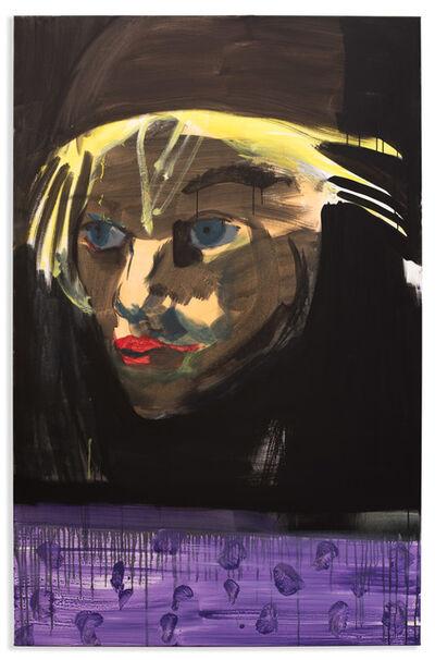 Rainer Fetting, 'artist Christian Schoeler', 2017