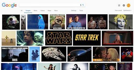 ORANGE JUICE, 'Star Wars vs. Star Trek', 2017