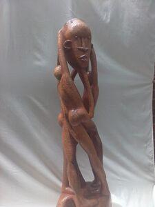 Ibou N'Diaye, 'Three Men '