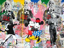 Mr. Brainwash, 'Einstein, Thrower and Mickey & Minnie', 2018