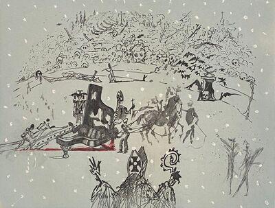 Salvador Dalí, 'Piano Under the Snow - Le Piano Sous La Neige ', 1966-1967