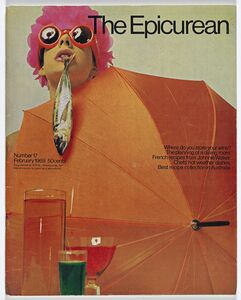 Les Mason, 'Epicurean Magazine Cover Design Number 17', 1969