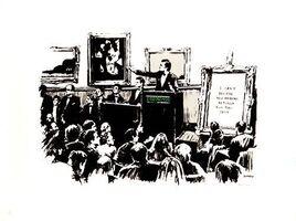 Banksy, 'Morons (B&W) (Signed)', 2007