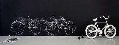 Robin Rhode, 'Chalk Bicycle', 2011