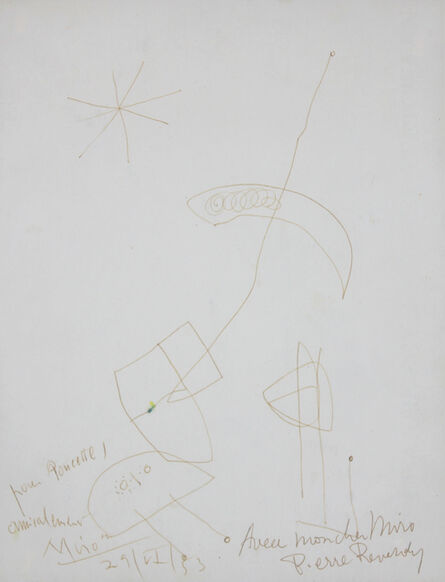 Joan Miró, 'Untitled', 1953